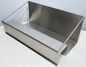Stainless Steel Condiment Holder Shelf Counter Rack Restaurant Gas Station