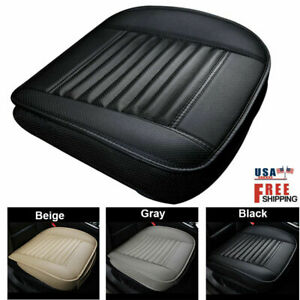 Full Surround Front Car Seat Cover Pu Leather Pad Mat Chair Cushion Protector