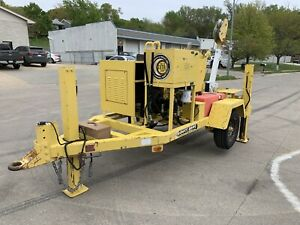 2004 Sherman Reilly Ddh 100 t Duct Dawg Underground Puller Tse Wagner Smith