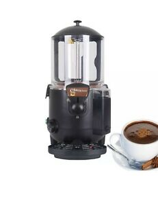10l Black Hot Chocolate Dispenser Machine Ce Chocofairy