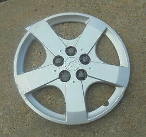 15 2003 04 05 Chevrolet Cavalier 5 Raised Spokes Hubcap Wheel Cover