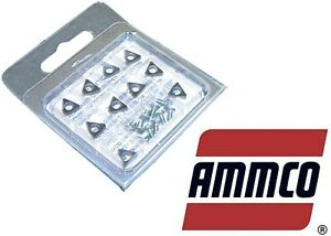 Ammco 6914 10 10 Pack Negative Rake Brake Carbide Insert New Free Shipping Usa