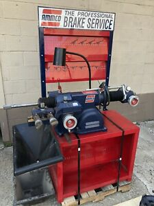 Ammco 4100b Combo Brake Lathe Loaded
