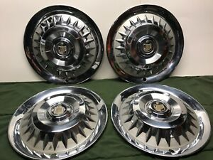1959 Mercury Park Lane Monterey Montclair Hubcaps 14 Wheel Covers Oe Fomoco