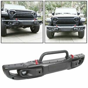10th Anniversary Front Bumper For 07 18 Jeep Jk Wrangler Rubicon 0873