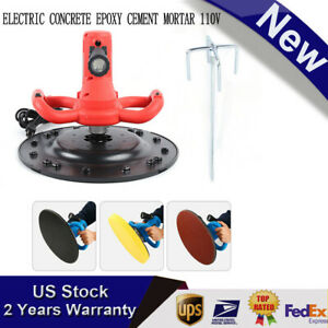 380mm 110v Electric Concrete Epoxy Cement Mortar Trowel Wall Smoothing Machine
