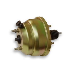 8 Booster Dual Zinc Power Brake Booster Muscle Car For Hot Rod Rat Rod Chevy
