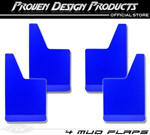 X4 Dodge Ram 1500 2500 Big Horn Rebel Truck Mudflaps Pdp Mudflaps Plain_ Blue