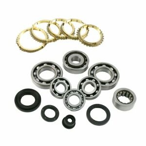 Honda Civic Crx L3 88 91 5 Speed Transmission Rebuild Kit 40mm Diff Bearings 1 6