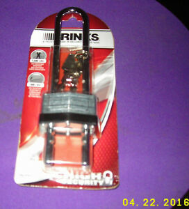 Brinks 162 44061 1 3 4 44mm Laminated High Security Padlock 1 pack New On Card