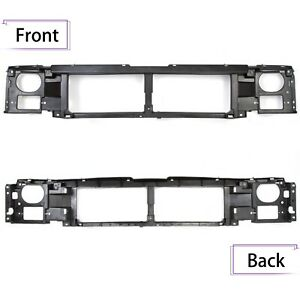 Header Panel For 1992 1997 Ford F 150 F 250 F 350 Grille Headlight Mount Panel