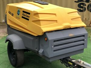 2016 Atlas Copco Xas185 Portable Diesel Air Compressor S Hop053160