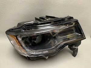 2014 2015 2016 Jeep Grand Cherokee Right Rh Xenon Headlight T77820b Parts Only