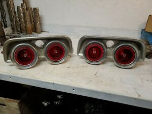 1968 Dodge Charger Rear Tail Light Assembly left Right Mopar