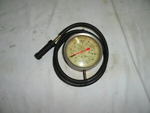 Snap on Tools Vacuum fuel Pump Pressure Gauge