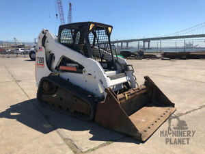 2012 Bobcat T190 With 4 in 1 Bucket