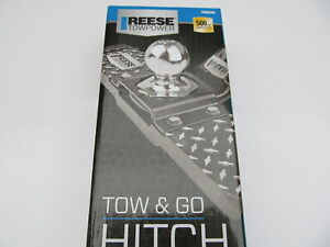 New Reese Tow Go Hitch Step Ball Mount 500 Lbs Model 7060200