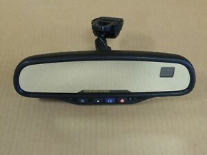 2003 2006 Chevy Silverado gmc Rear View Mirror W compass temp 15176973 Genuine