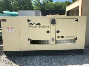 2014 150 Kw Natural Gas Kohler Generator Model 150rezgc