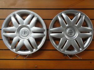 Pair Of 2 15 New Toyota 2000 2001 Camry Wheel Cover Hubcap Free Shipping 61104
