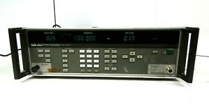 Fluke 6060a Synthesized Signal Generator Free Shipping