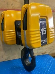 Demag 15 Ton Bottom Block 2 Sheave 280 14 Dh p 625 For 4 1 Reeving 14mm Rope