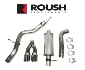 2019 2021 Ford Ranger 2 3l Roush 422179 Cat Back Side Exit Exhaust System Kit