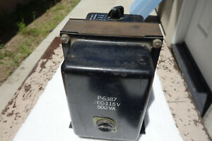 Stancor P 6387 210 230 250v Input 115vac Output 500va Step Down Transformer