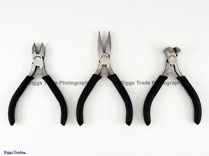 Craftsman china 3 Pc Precision Pliers Set includes 45733 45738 45739