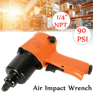 Air Impact Wrench Gun Professional Hose Twin Hammer Mechanism Tire Tool