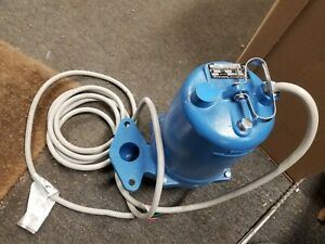 New Ws2034bhf Goulds 2 Hp 460 480 Volts Submersible Sewage Pump 3 Phase 2 Npt