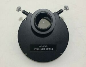 Olympus Phase Contrast Condenser Lwcd 0 55 Imt 2 Microscope Dhl Ship World Wide