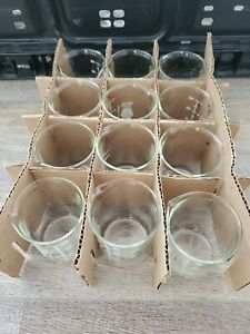 Kimble Kimax Glass 150ml 1 Case 12pcs Graduated Low Form Griffin Beaker 14000