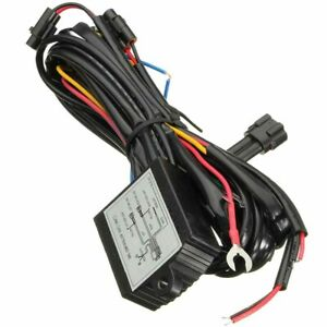 Dc 12v Car Drl Daytime Running Light Dimmer Dimming Relay Control Switch Harness