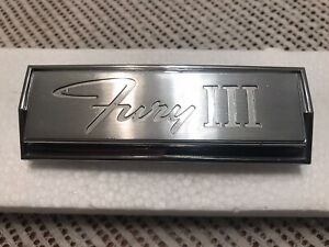 1966 Plymouth Fury Iii Grille Emblem