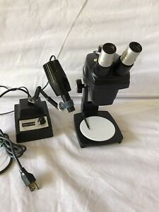 Bausch Lomb Stereo Microscope 7 30x With Light