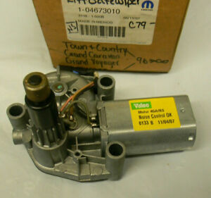 Genuine Mopar Rear Liftgate Wiper Motor 4673010