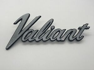 Plymouth Valiant Name Plate Emblem 3680462