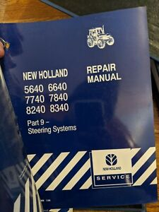 Ford New Holland 5640 6640 7740 7840 8240 8340 Tractor Service Manual 12 Section