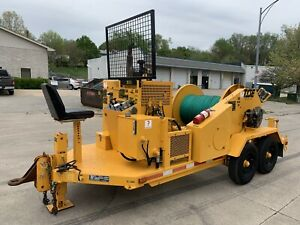 2005 Tse Td40ah Overhead Single Drum Puller Sherman Reilly Wagner Smith