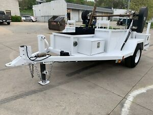 Sherman Reilly Reel Trailer 8000lb Axle Wagner Smith Tse