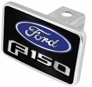 Eurosport Daytona Stainless Steel Hitch Plug Oval Badge For Ford F 150