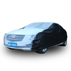 Universal Peva Full Car Cover Outdoor Protector Anti Scratch Dust Sun Resistant