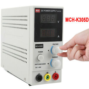 Dc Power Supply Variable 3digital Display 0 30v Switching Adjustable 0 5a