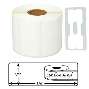 Self adhesive Jewelry Price Labels 3 8 X 3 4 For Dymo 30299 Lw Acii 200 4xl