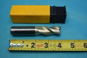 Used Helical Carbide End Mill H35al r 30750 3 4