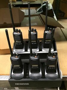 6 Kenwood Tk 2180 Vhf 136 174mhz Wide narrow Radio Pager Police Fire Ems