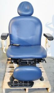 Ritter Midmark 630 003 Power Exam Chair With Footswitch And Hand Control