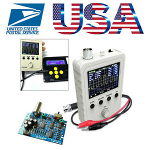 Assembled Dso150 Digital Oscilloscope 2 4 Inch Lcd Display With Clip Diy Kit Us