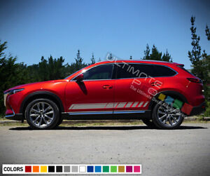 Sticker Decal For Mazda Cx 9 Stripe Graphics Body Mode Front 2018 Baby Car Seat